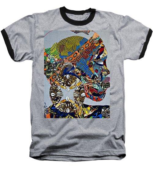 Indigo Crossing Baseball T-Shirt by Apanaki Temitayo M