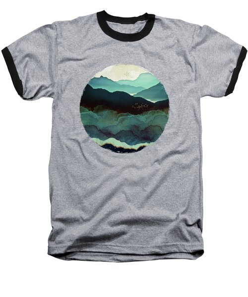 Indigo Mountains Baseball T-Shirt