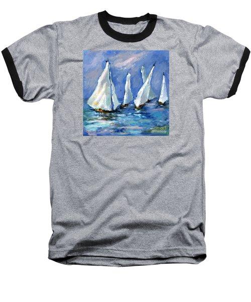 Indigo Seas Baseball T-Shirt