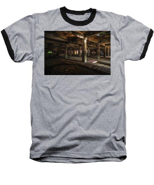 Industrial Catacombs Baseball T-Shirt