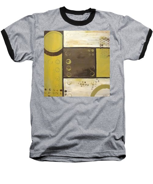 Industrial Circles No.2 Baseball T-Shirt by Steven R Plout