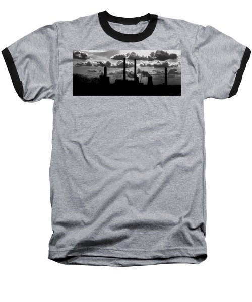 Industrial Night Baseball T-Shirt