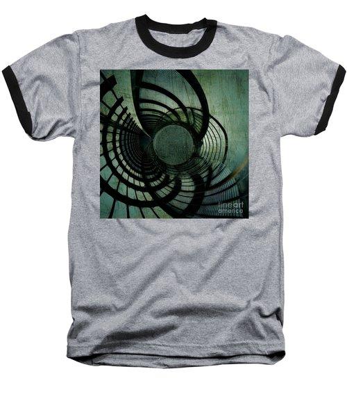 Industrial Overpass Grey Baseball T-Shirt