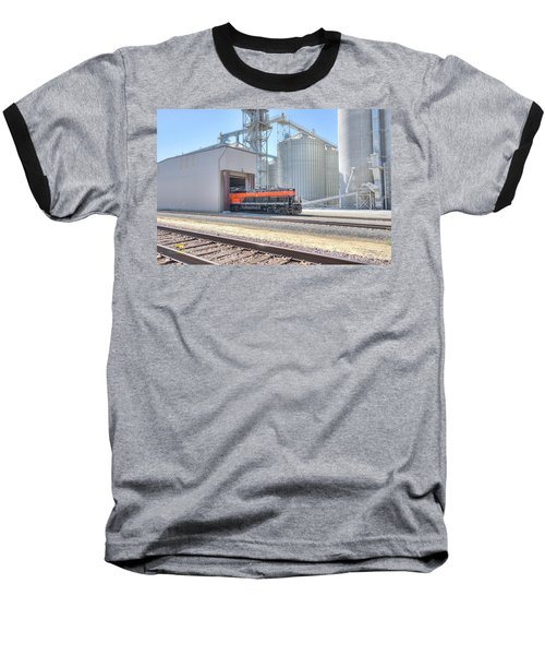 Baseball T-Shirt featuring the photograph Industrial Switcher 5405 by Jim Thompson