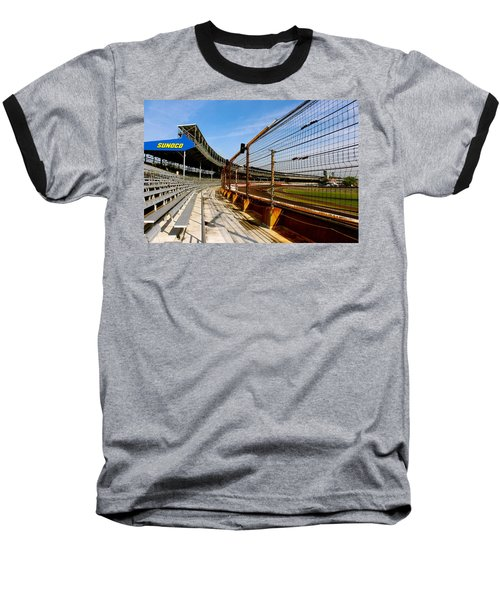 Baseball T-Shirt featuring the photograph Indy  Indianapolis Motor Speedway by Iconic Images Art Gallery David Pucciarelli