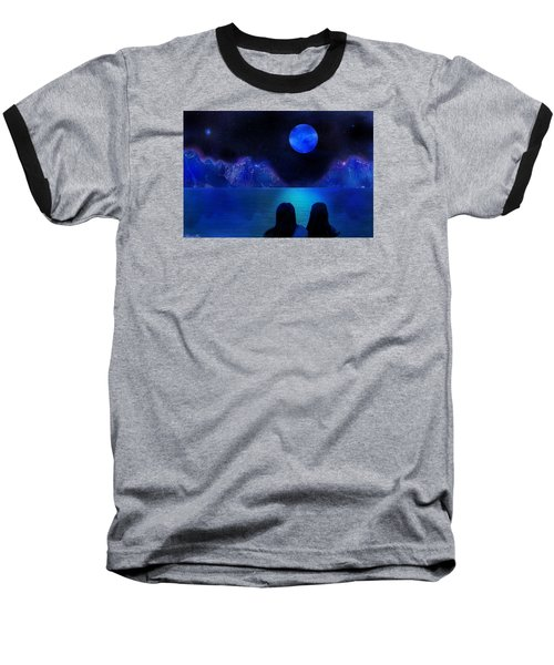 Baseball T-Shirt featuring the photograph Infinite Dreams by Bernd Hau
