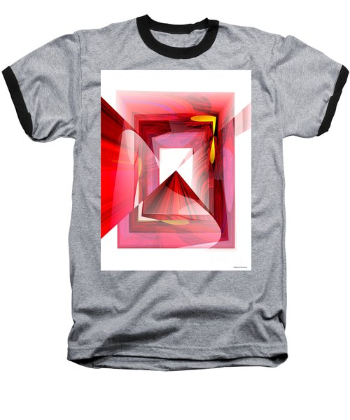 Infinity Tunnel  Baseball T-Shirt by Thibault Toussaint