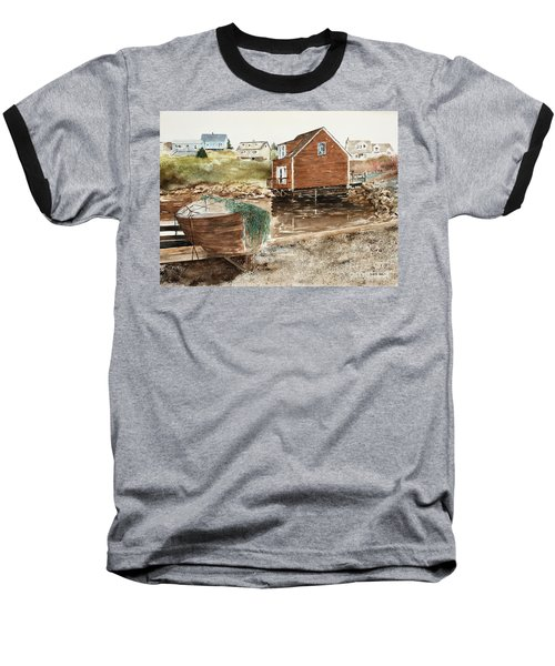 Inlet At Peggy's Cove Baseball T-Shirt