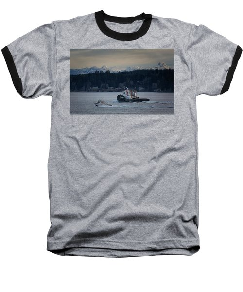Baseball T-Shirt featuring the photograph Inlet Crusader by Randy Hall