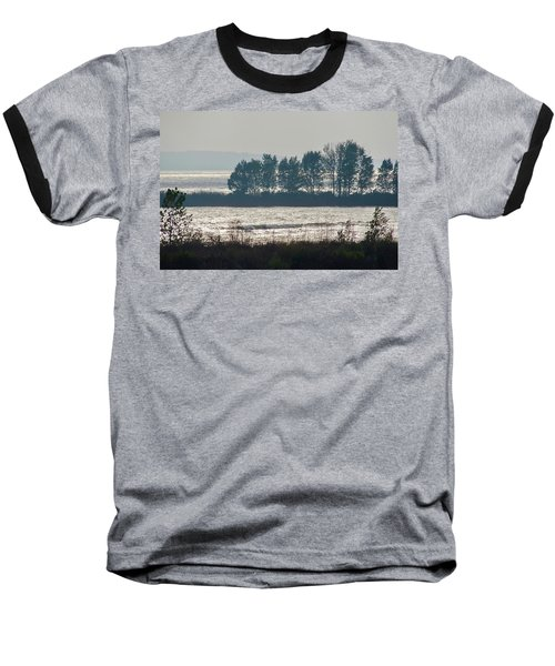 Inlet On Lake Michigan Baseball T-Shirt