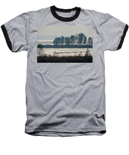 Inlet On Lake Michigan Baseball T-Shirt