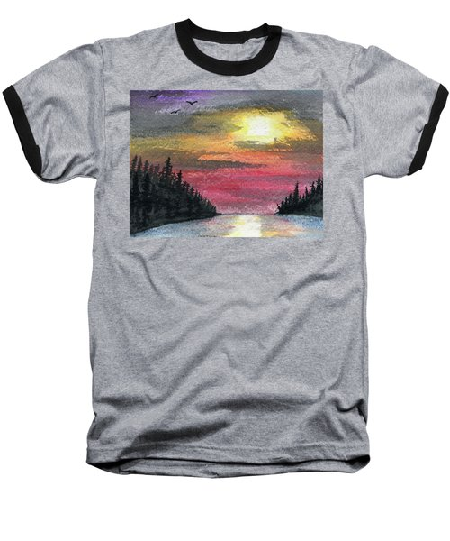 Inlet Baseball T-Shirt by R Kyllo