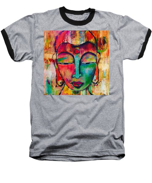 Inner Buddha  Baseball T-Shirt