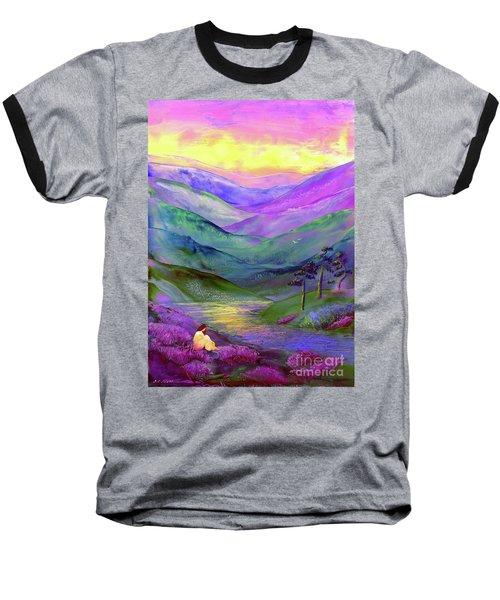Inner Flame, Meditation Baseball T-Shirt