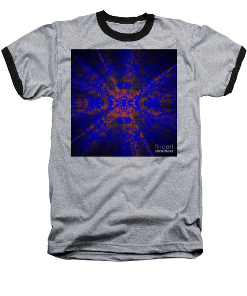 Inner Glow - Abstract Baseball T-Shirt