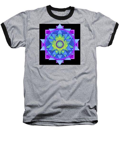 Inner Light Mandala Baseball T-Shirt