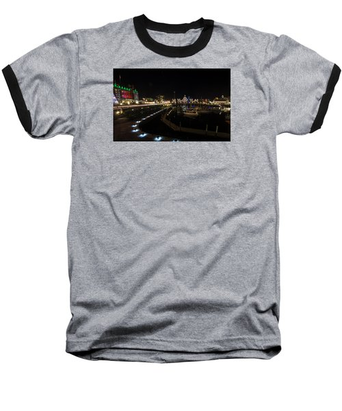 Inner Harbour Of Victoria Bc Baseball T-Shirt by Marilyn Wilson