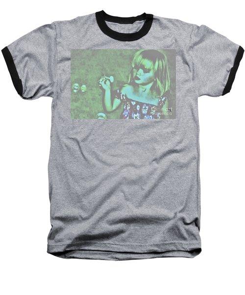 Innocence Baseball T-Shirt by Marsha Heiken