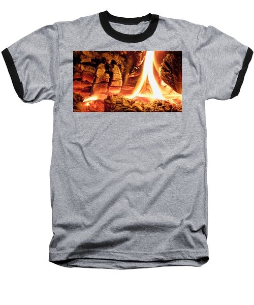 Inside Fire Baseball T-Shirt
