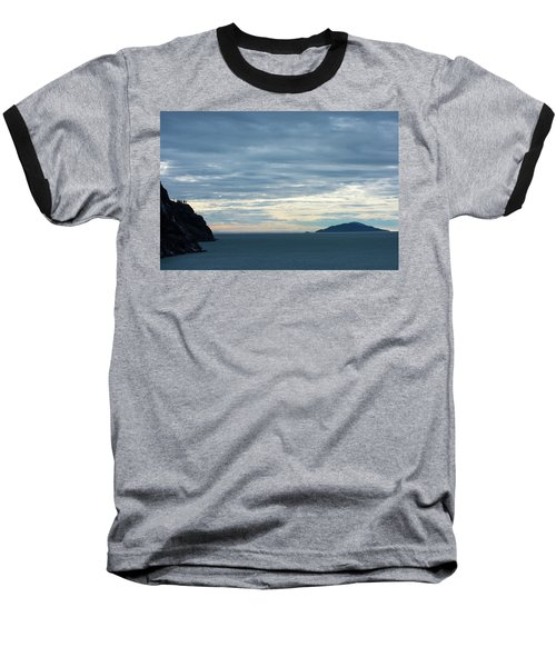 Inside Passage Sunset Baseball T-Shirt