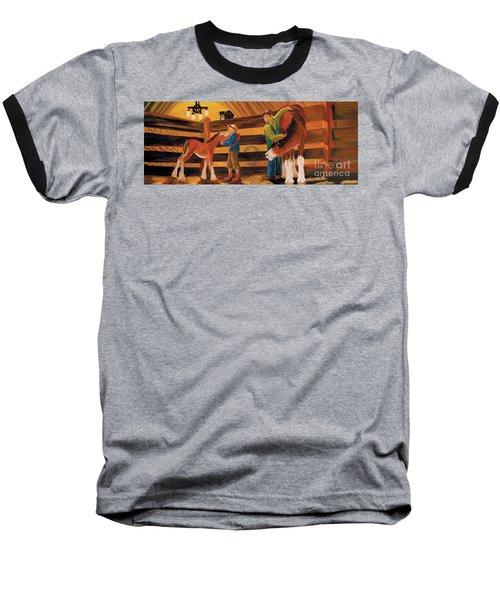 Inside The Barn Baseball T-Shirt