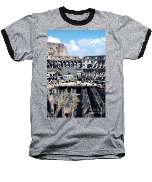 Inside The Colosseum Baseball T-Shirt