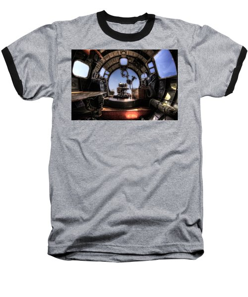 Inside The Flying Fortress Baseball T-Shirt