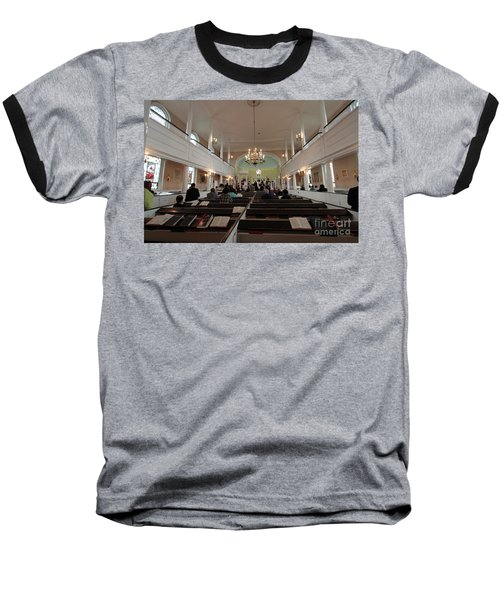 Inside The St. Georges Episcopal Anglican Church Baseball T-Shirt