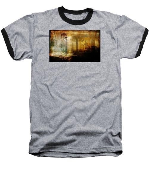 Inside Where It's Warm Baseball T-Shirt by Bellesouth Studio