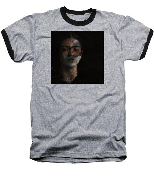 Inspiration Frida Kahlo  Baseball T-Shirt