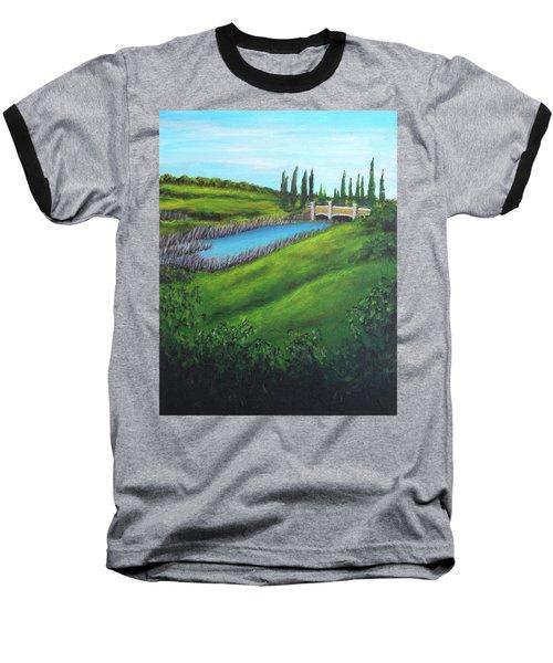 Inspiration In Mountain House Baseball T-Shirt