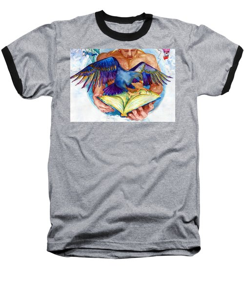 Inspiration Spreads Its Wings Baseball T-Shirt
