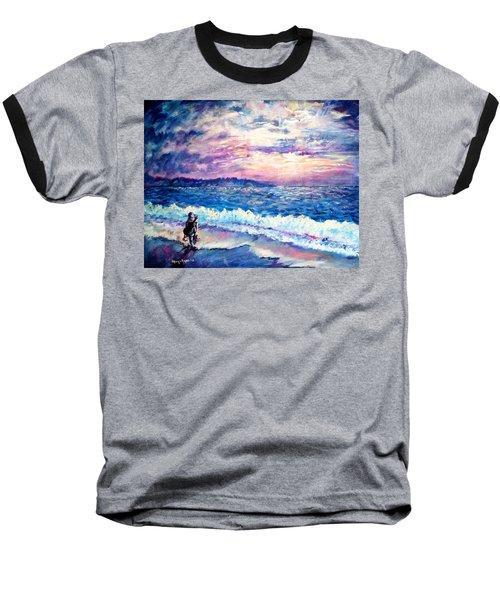 Inspiration-the Musician Baseball T-Shirt by Shana Rowe Jackson