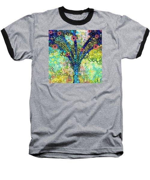 Inspirational Art - Absolute Joy - Sharon Cummings Baseball T-Shirt