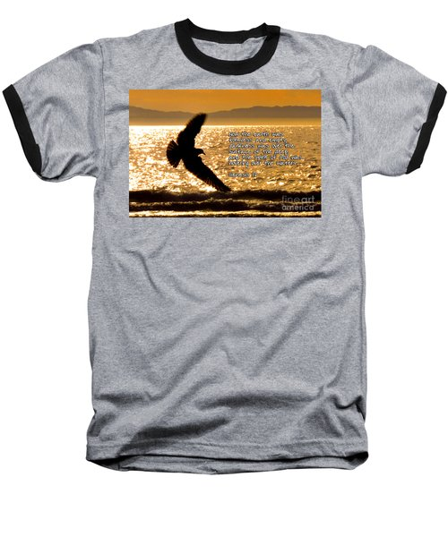 Inspirational - On The Move Baseball T-Shirt