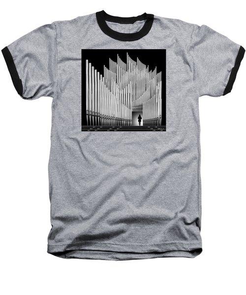 Inspirational Walk Baseball T-Shirt by Joe Bonita