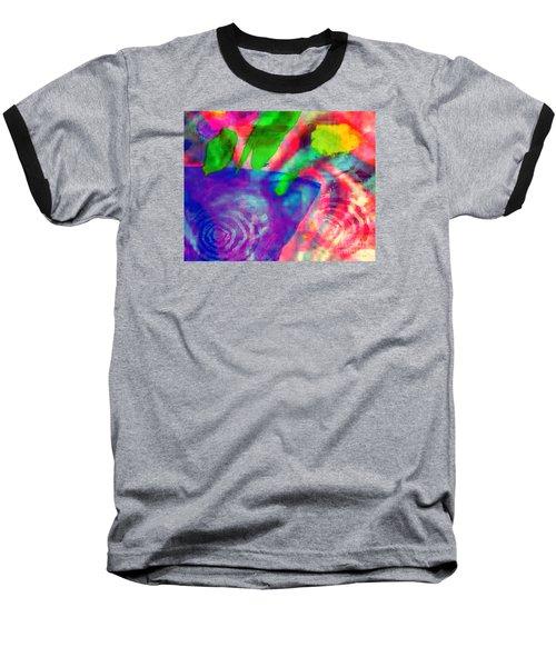 Inspired Flower Pot Baseball T-Shirt by Fania Simon