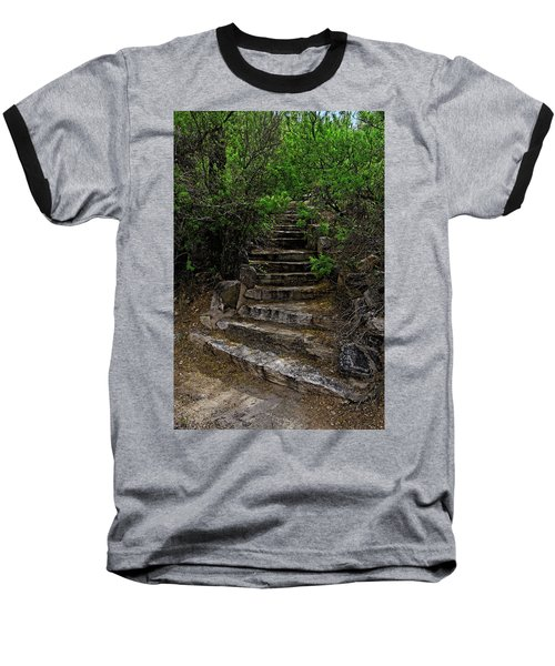 Baseball T-Shirt featuring the photograph Instep With Nature V53 by Mark Myhaver