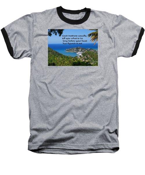 Instincts Baseball T-Shirt