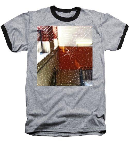 Baseball T-Shirt featuring the photograph Intact Abandonment by Robert Knight