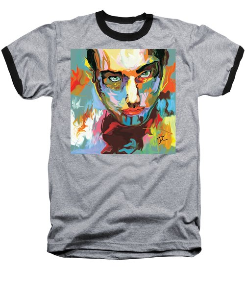 Intense Face 2 Baseball T-Shirt