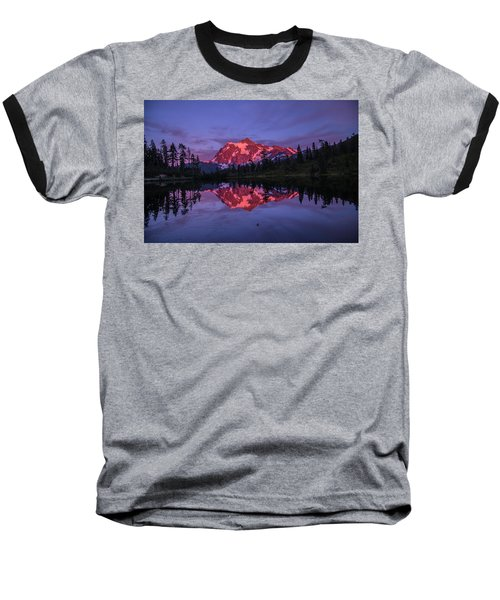 Intense Reflection Baseball T-Shirt