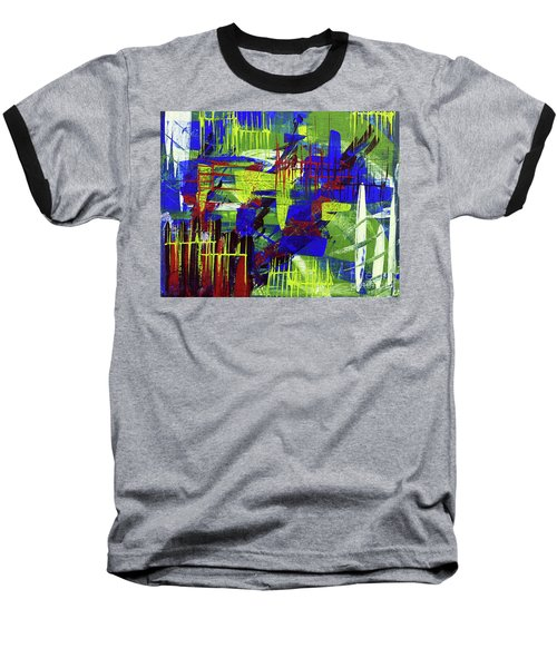 Intensity II Baseball T-Shirt by Cathy Beharriell