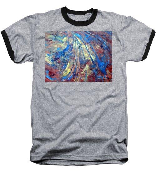 Intensity Baseball T-Shirt by Valerie Travers