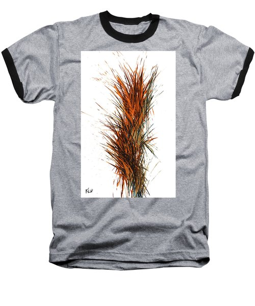 Baseball T-Shirt featuring the painting Intensive Abstract Painting 1030.050512 by Kris Haas