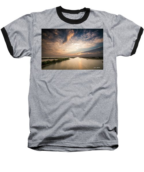 Intercoastal Sky Baseball T-Shirt