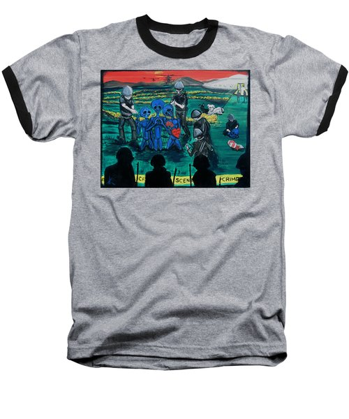 Intergalactic Misunderstanding Baseball T-Shirt