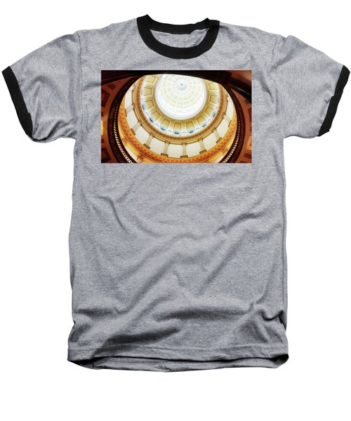 Baseball T-Shirt featuring the photograph Interior Denver Capitol by Marilyn Hunt