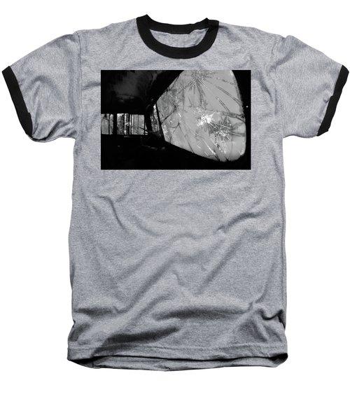 Interior In Gray Baseball T-Shirt