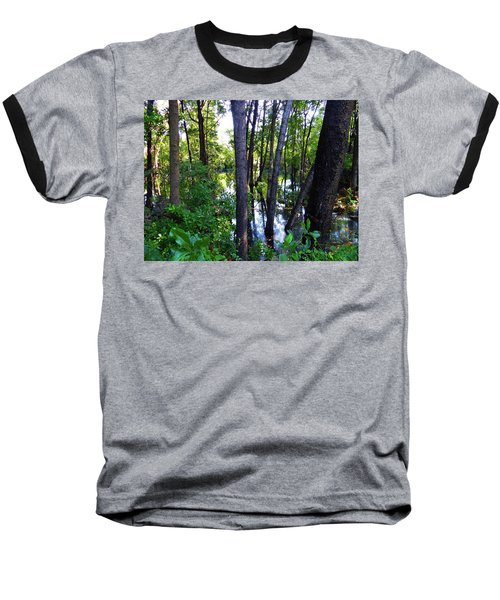Interior Lake Chale Island Baseball T-Shirt